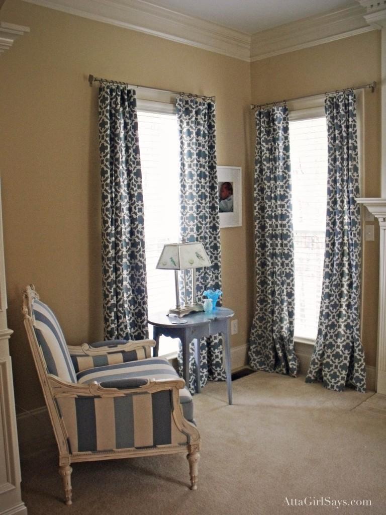 Target Living Room Curtains My Curtain Odyssey Atta Girl Says