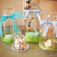Decorated Easter Jars Tutorial