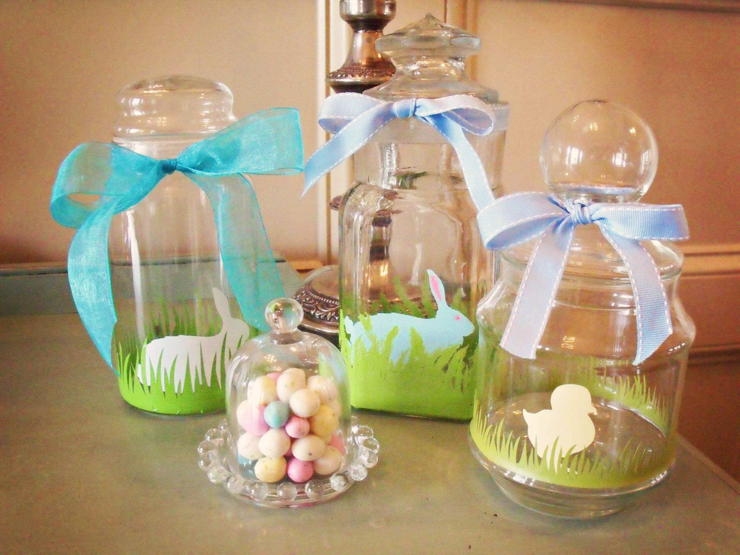 decorated easter jars tutorial atta girl says aren t these jars
