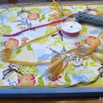 How to make a fabric covered bulletin board by AttaGirlSays.com