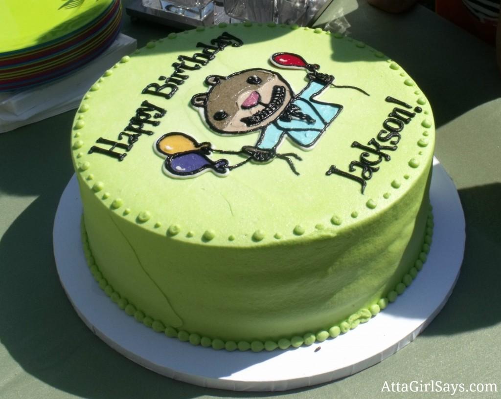 scaredy squirrel birthday cake AttaGirlSays.com