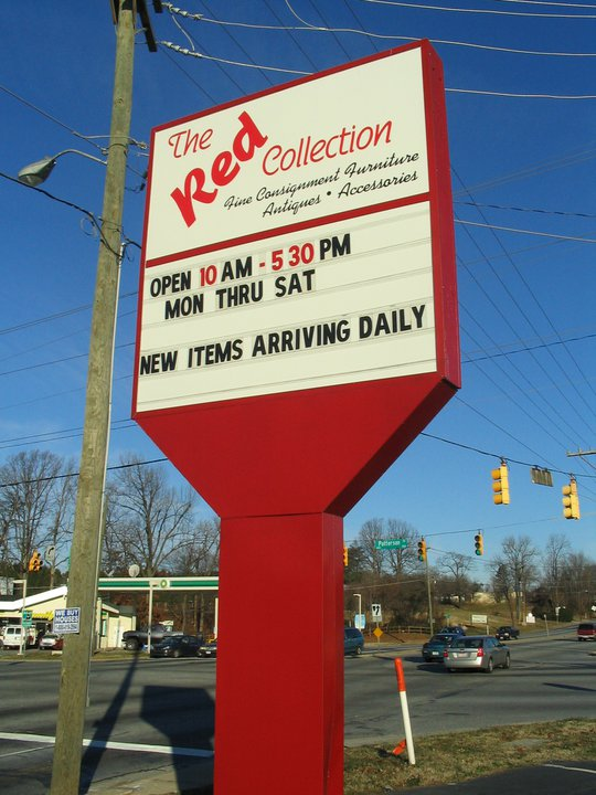 the red collection consignment store greensboro north carolina