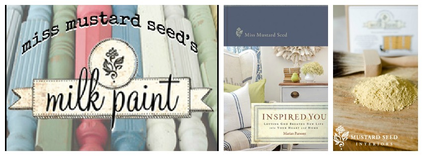 Miss Mustard Seed Milk Paint and Inspired You Book Giveaway at AttaGirlSays.com