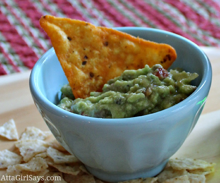 single serving homemade freezer guacamole AttaGirlSays.com