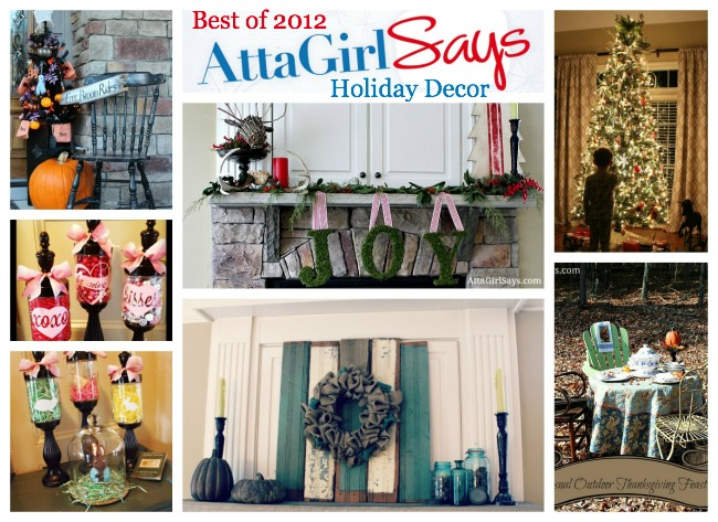 Best of 2012 Holiday Decor by AttaGirlSays.com