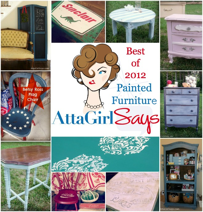 Best Painted Furniture Projects from AttaGirlSays.com