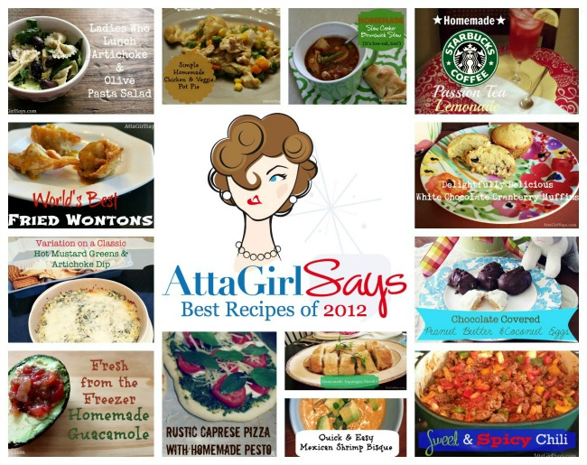 Best Recipes from AttaGirlSays.com 2012