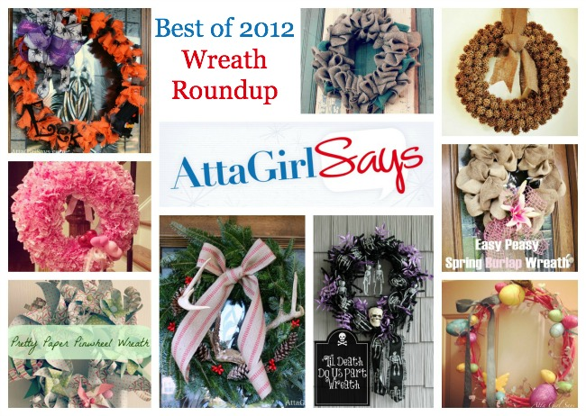 Best of 2012 Wreaths for Every Season by AttaGirlSays.com