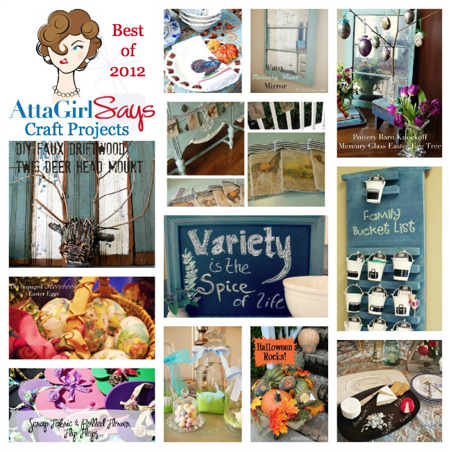 Best Crafts of 2012 by AttaGirlSays.com