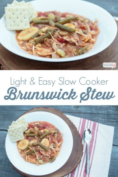 Easy Slow Cooker Brunswick Stew