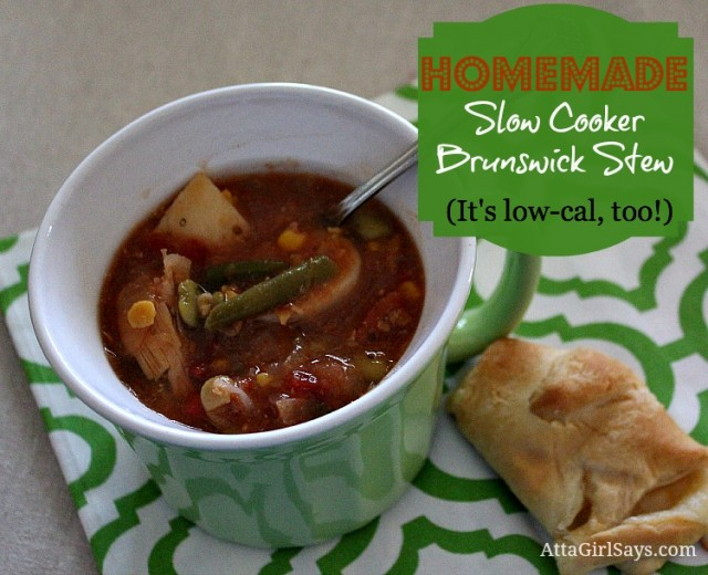 Atta Girl Says: Low Calorie Slow Cooker Brunswick Stew recipe