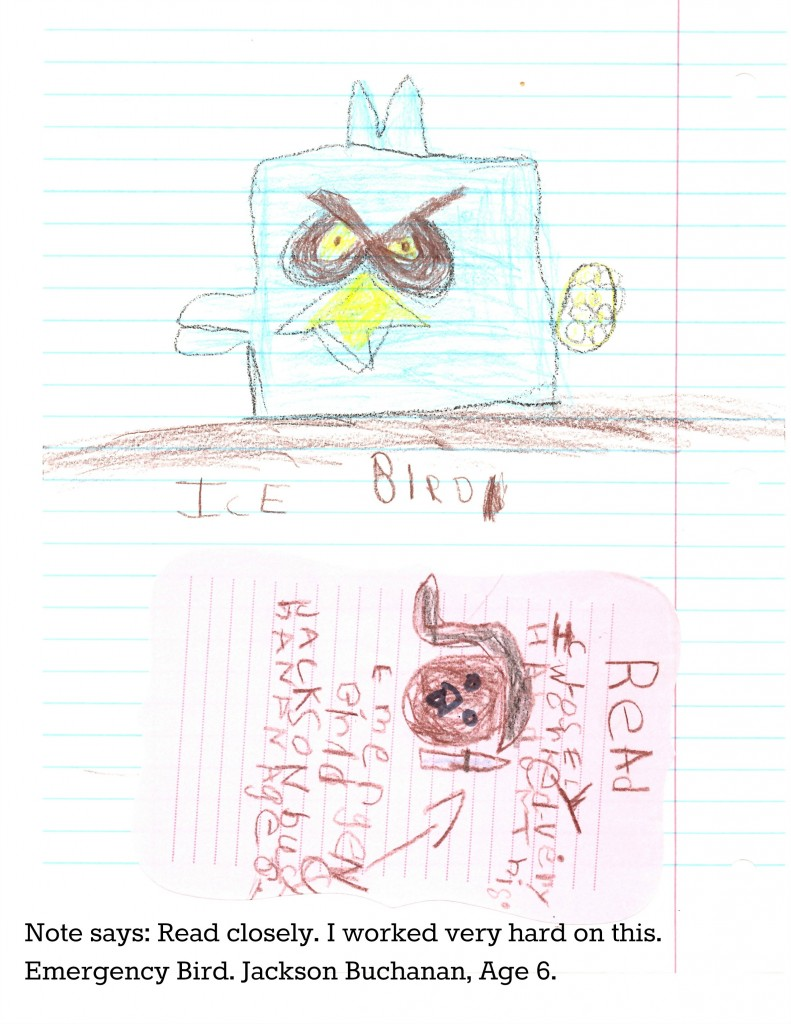 Angry Birds Ice Bird Drawing