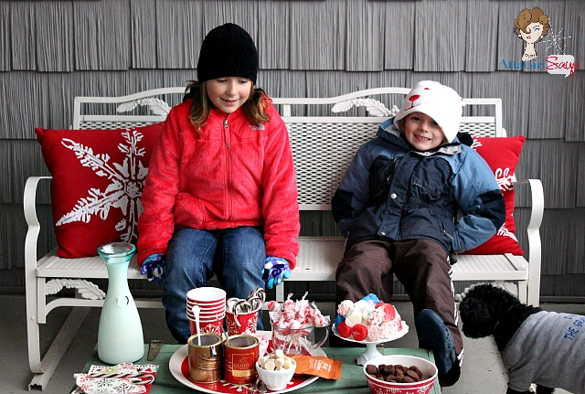 snow day hot chocolate party