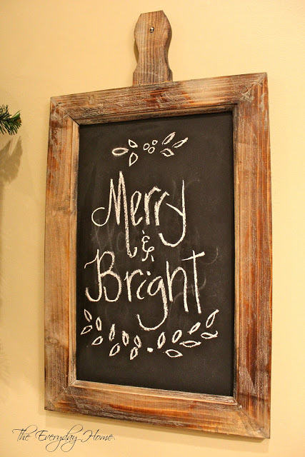 Farmhouse Decor chalkboard