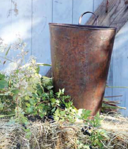 Rustic Flower bucket