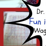 Atta Girl Says: Dr. Seuss Fun is Good Quote Sign from Wooden Wagon