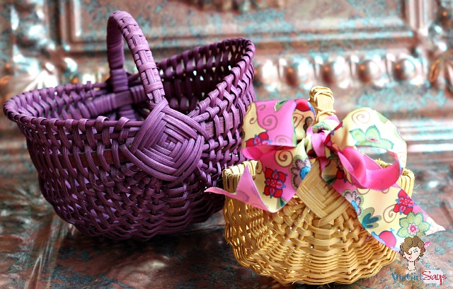 Handwoven Easter Baskets