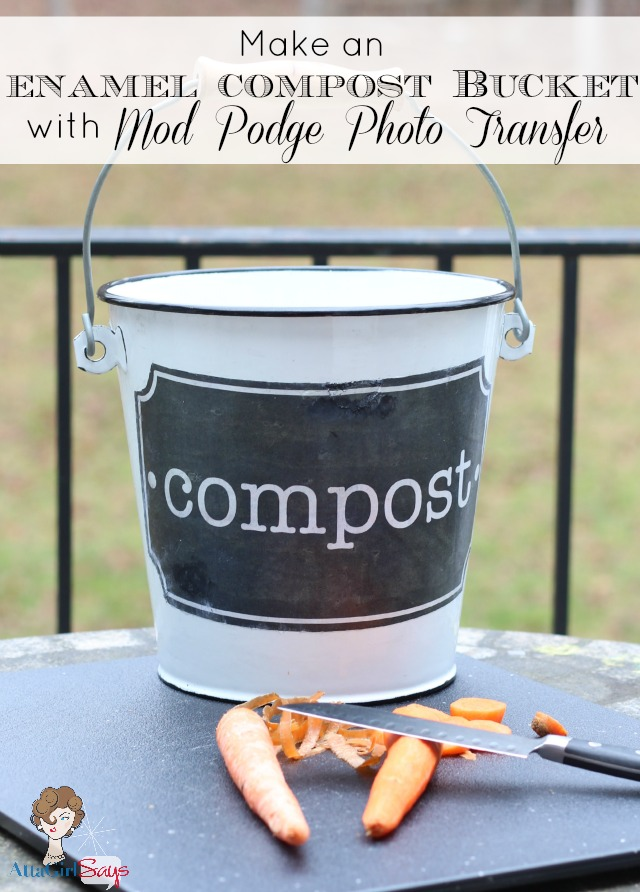 How to Make a compost bucket