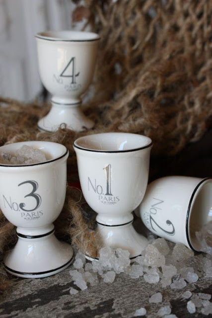 Farmhouse Decor egg cups