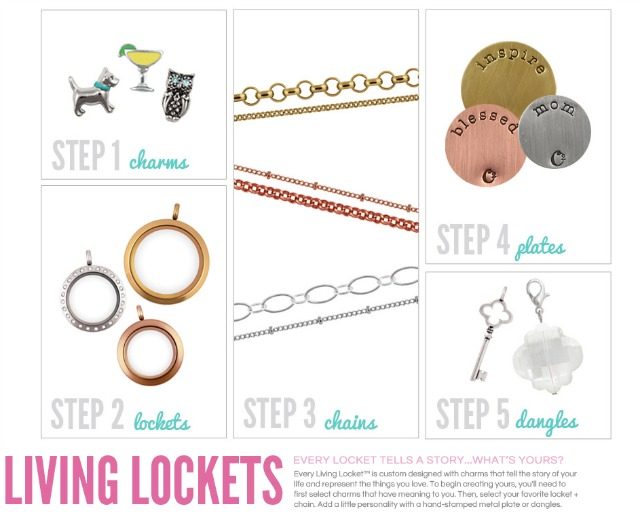 Origami Owl jewelry step by step