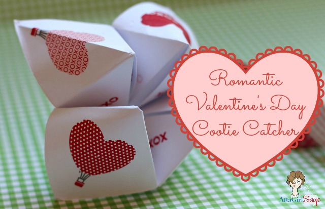 Romantic Valentine's Day Cootie Catcher Craft
