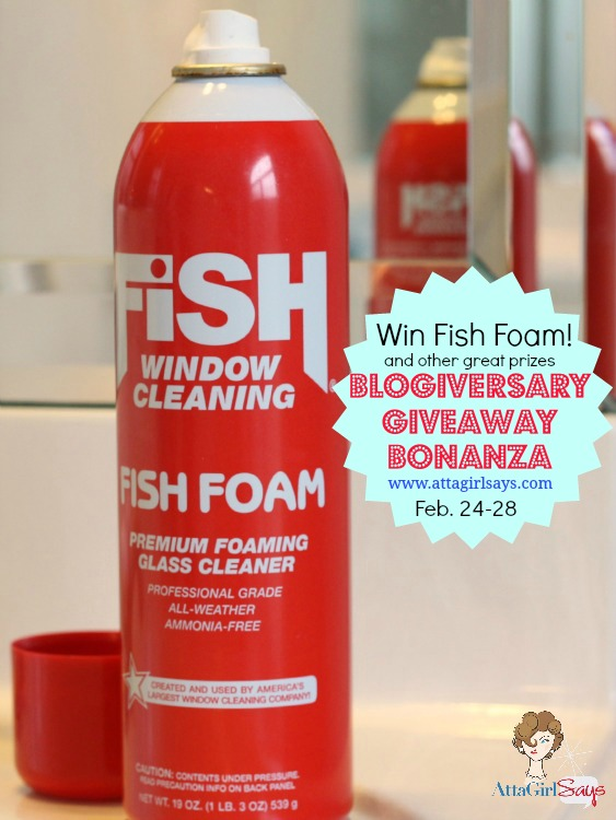 Win Fish Foam