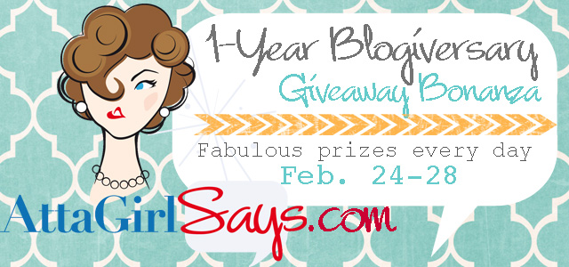 Atta Girl Says Blogiversary Giveaway Bonanza