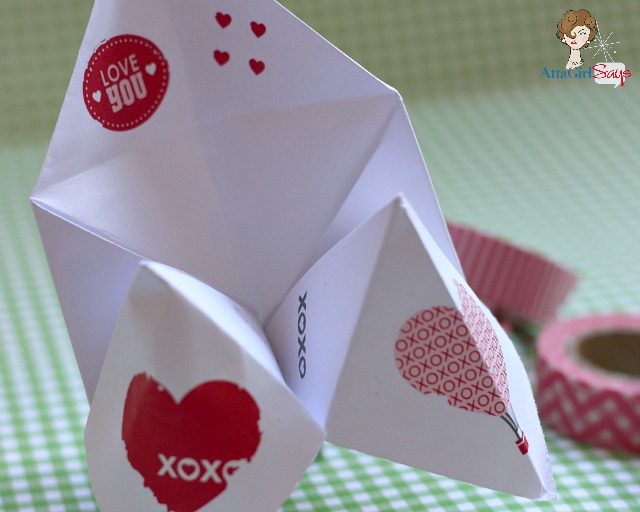romantic valentine 39 s day cootie catcher love notes atta