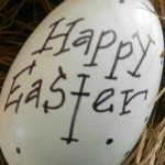 FEATURED Happy Easter Mantel