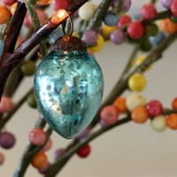 Featured Mercury Glass Easter Egg Tree