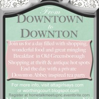 Hometalk N.C. Bloggers Meetup: From Downtown to Downton