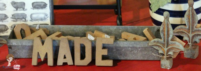 wooden letters MADE it