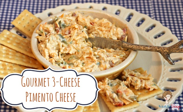 Gourmet 3-Cheese Pimento Cheese Spread