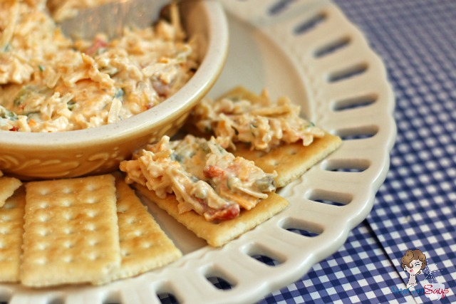 Homemade Three-Cheese Pimento Cheese Party Spread - Atta Girl Says