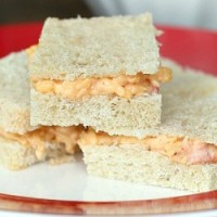 featured Homemade Pimento Cheese on White Bread