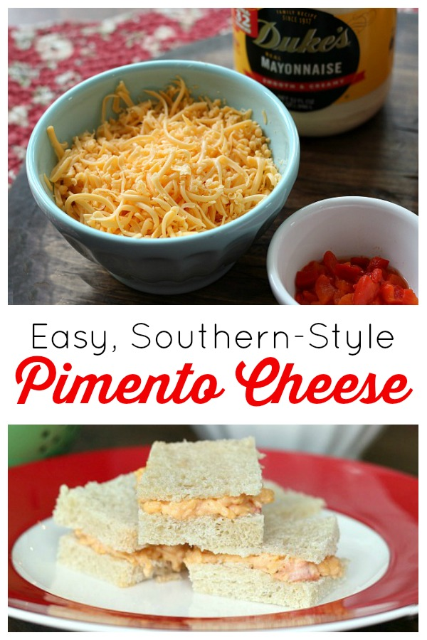 Easy chicken salad recipe only 3 simple ingredients an easy pimento cheese recipe without cream cheese just three simple ingredients plus forumfinder Choice Image