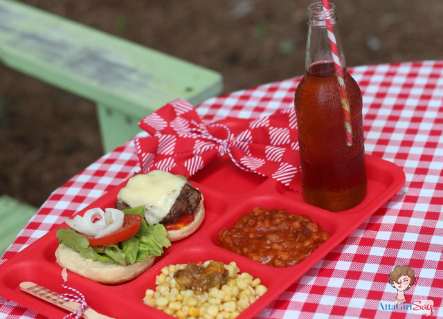 AttaGirlSays: Blue- Ribbon Baked Beans and Backyard Picnic