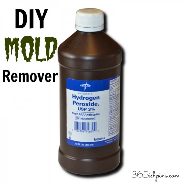 DIY mold remover by 365ish Days of Pinterest