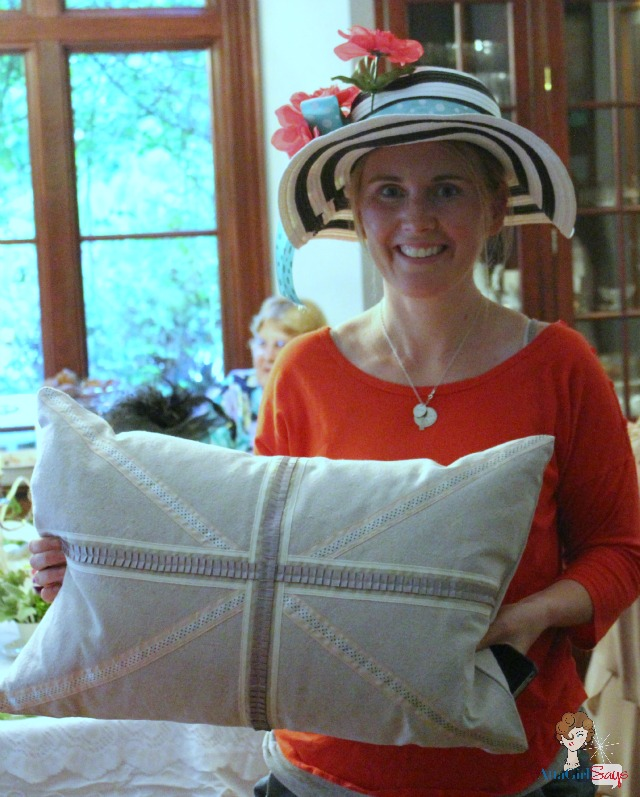 Sew A Fine Seam: Bloggers, Hats, Shopping And Teatime: N.C. Bloggers Meetup