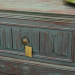 FEATURED Kitchen Scale Milk Paint Buffet Styled