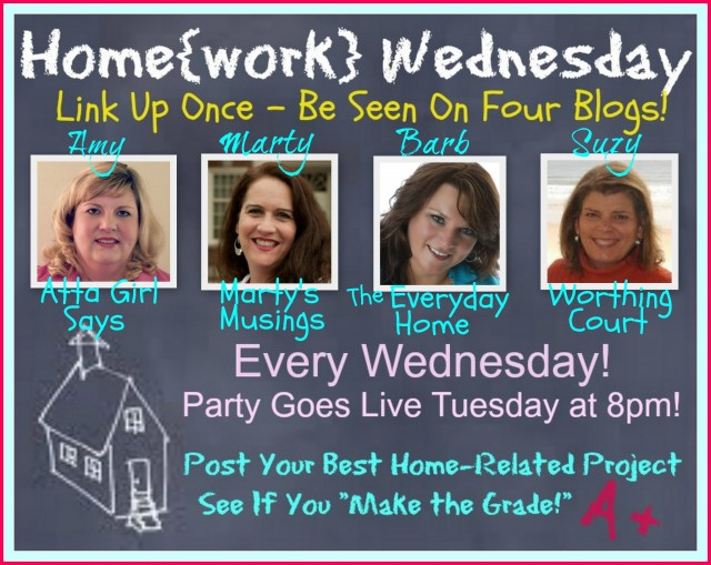 Homework Wednesday Linky Party