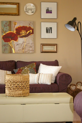 Sitting Room makeover by Raising May Flowers