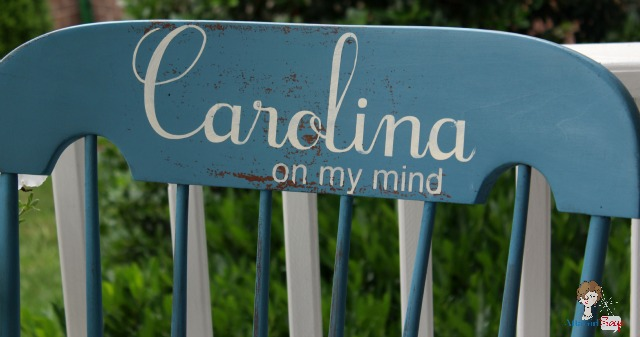 Carolina on My Mind Rocking Chair