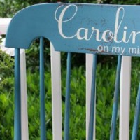 FEATURED Carolina on my mind rocking chair