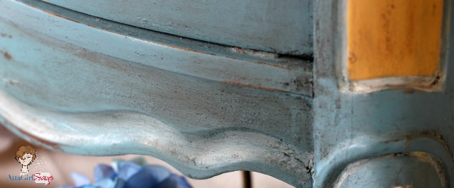 Atta Girl Says: French Enamel Milk Paint with Antiquing Wax