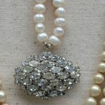 featured Vintage Jewelry in Shadowbox