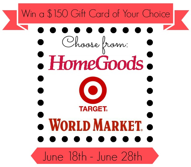 Atta Girl Says: Target HomeGoods World Market $150 gift card giveaway