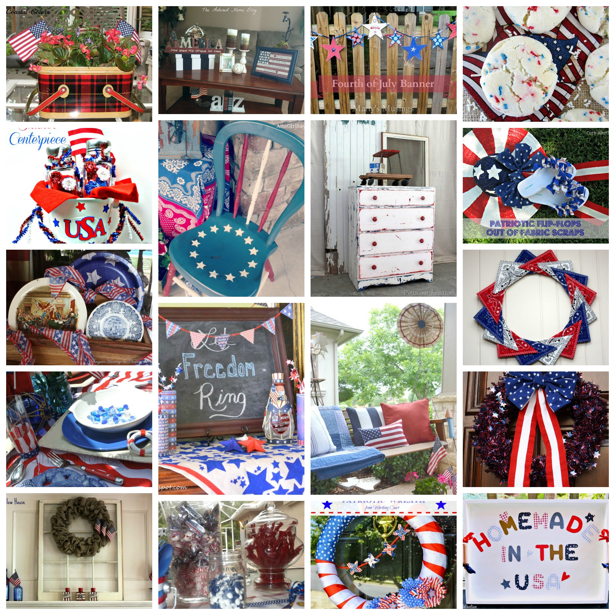 18 Patriotic Ideas for July 4th
