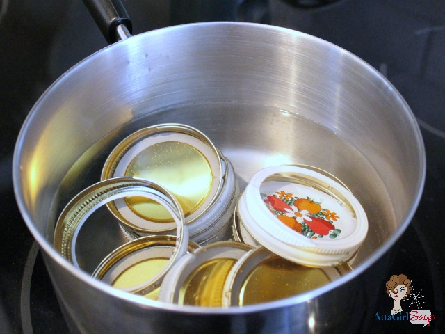 Atta Girl Says: Boiling Lids for homemade Pepper Jelly Recipe
