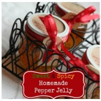Great Food Gifts: Sweet & Spicy Homemade Pepper Jelly Recipe